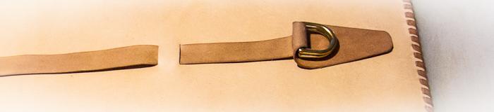 Detail, Kangaroo Leather Strap