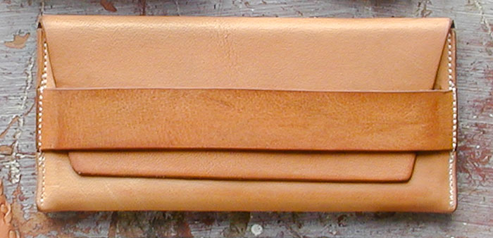 Leather Envelope, July 2005