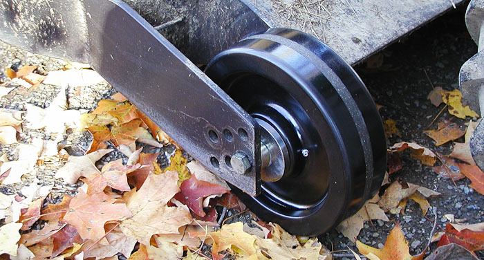 New Wheel Mounted, PT-1845 Roughcut Mower,  October 20, 2003