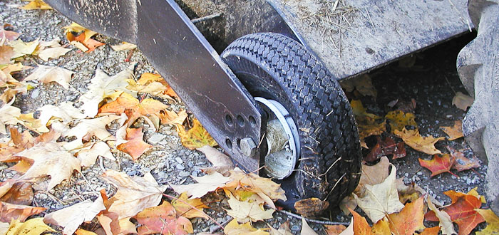 Last Flat, PT-1845 Roughcut Mower,  October 20, 2003