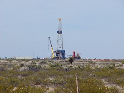 Rig 97 - US 285 between Pecos & Orla TX