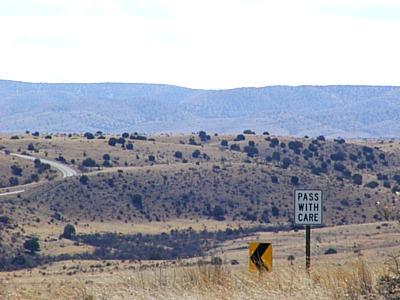 US 82 west toward Cloudcroft NM