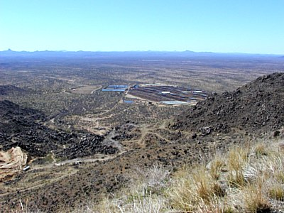 AZ 89 overlooking Wilhoit AZ