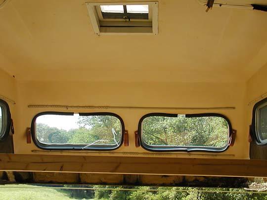 Starcraft Truck Camper shell, interior, front