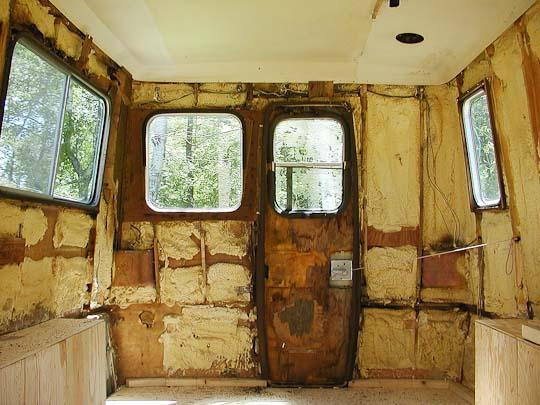 Starcraft Truck Camper shell, interior, rear