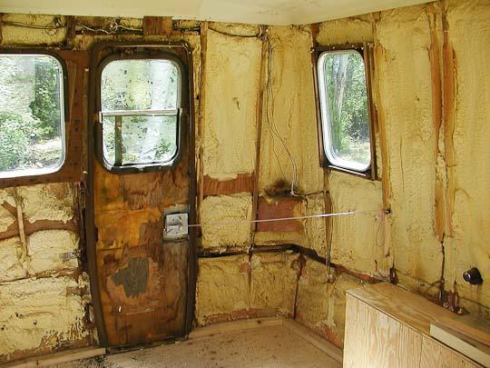 Starcraft Truck Camper shell, interior, left rear