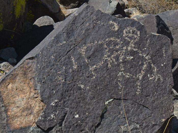 Three Rivers Petroglyphs Series #7, Three Rivers NM, April 28, 2009