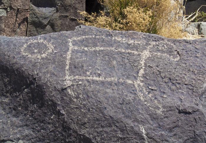 Three Rivers Petroglyphs Series #8, Three Rivers NM, April 28, 2009