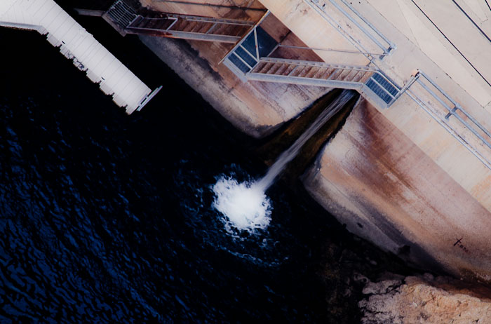 Untitled, Hoover Dam, April 2, 2011