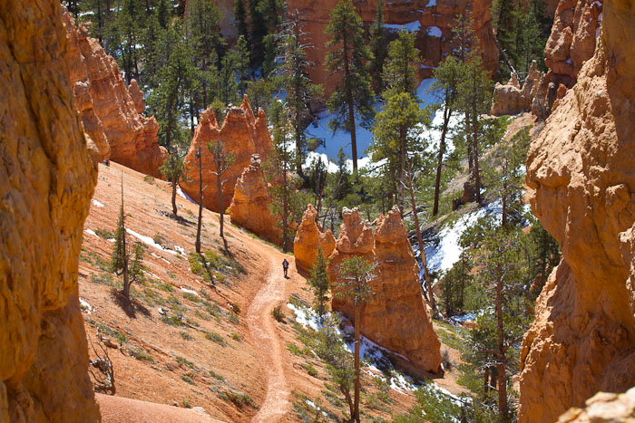 Queen's Garden Trail, Bryce Canyon National Park, April 12, 2011