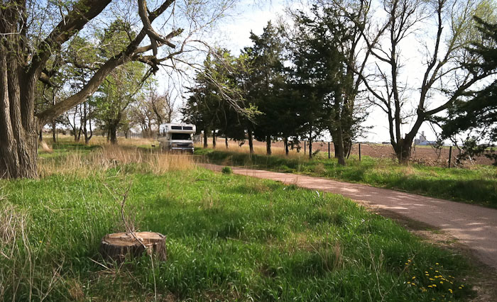 Camped, DLD State Recreation Area, Hastings NE, May 7, 2011