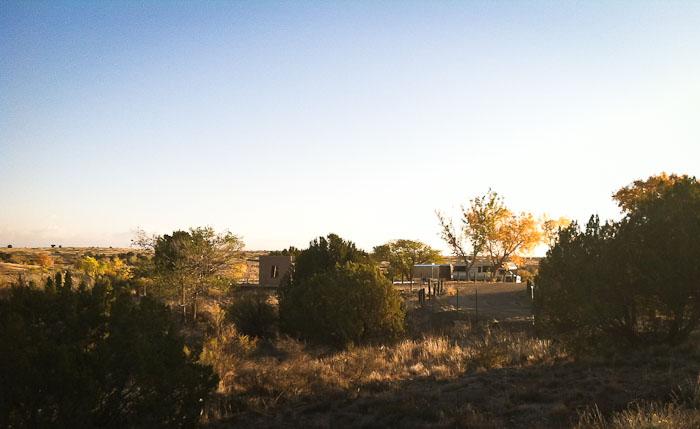 Sunrise at Site 34, Sumner Lake State Park, Fort Sumner NM, November 2, 2011