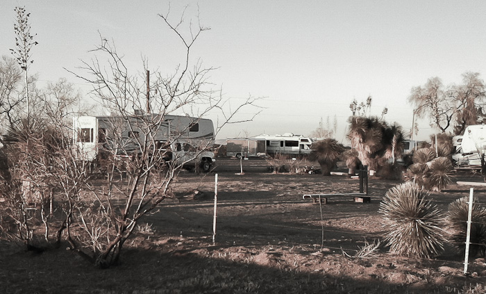 Sunrise, LoW-HI RV Ranch, Deming NM, January 14, 2012