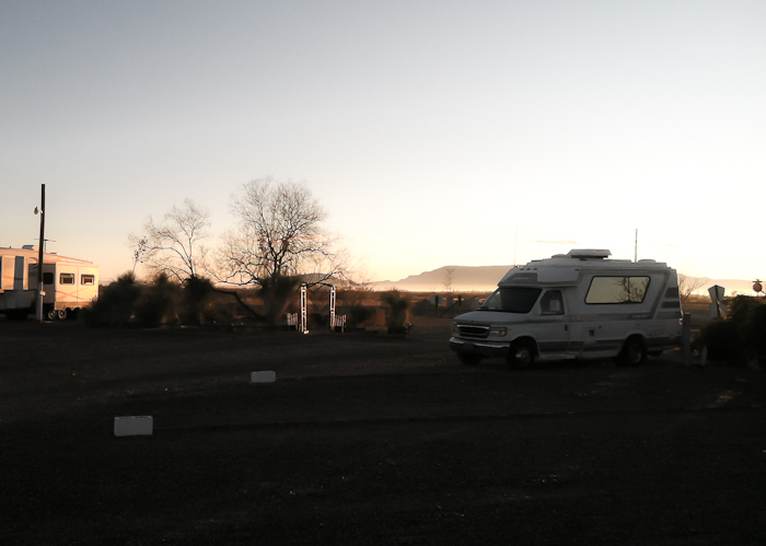 Tuesday January 17 2012 Low Hi Rv Ranch Deming Nm