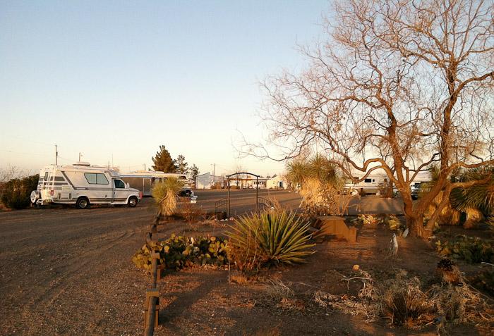 Sunrise, LoW-HI RV Ranch, Deming NM, January 22, 2012