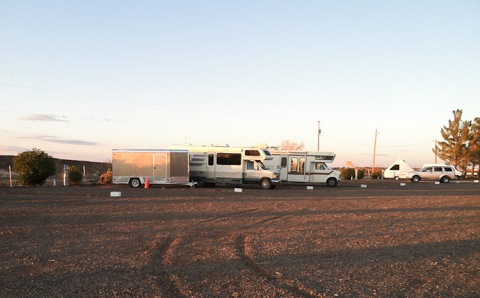 Site 8, LoW-HI RV Ranch, Deming NM, January 25, 2012