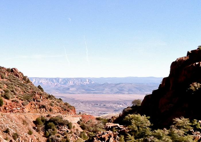The Road to Jerome, Jerome AZ, January 30, 2012