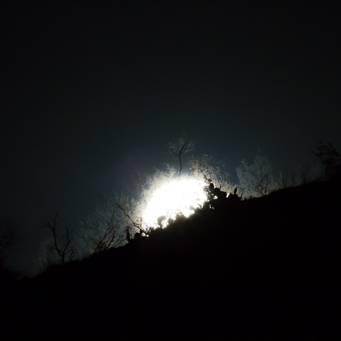 Full Moon Rising, Caballo Lake State Park, NM, May 5, 2012